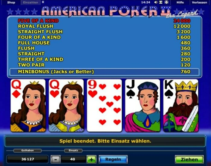 American Poker 288898