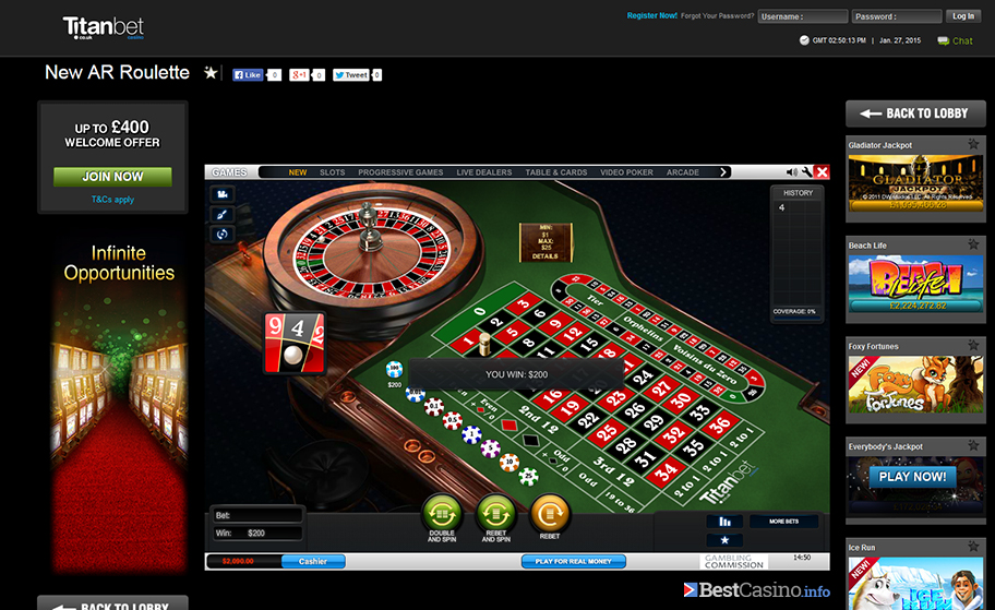 NewAR Roulette 876358