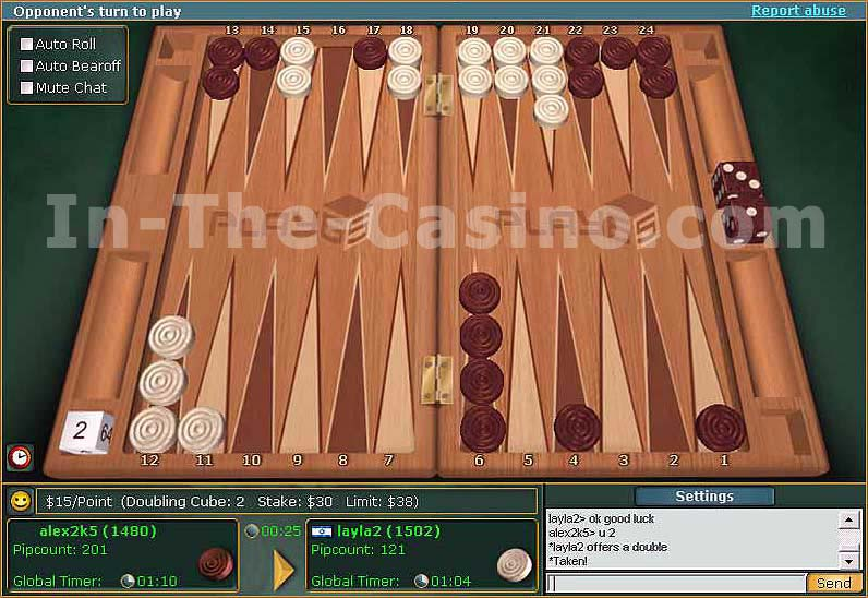 Backgammon online 362219