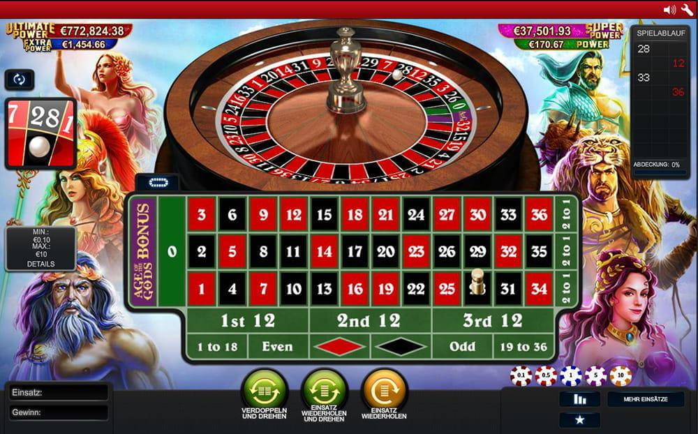 Roulette Gewinne 277170