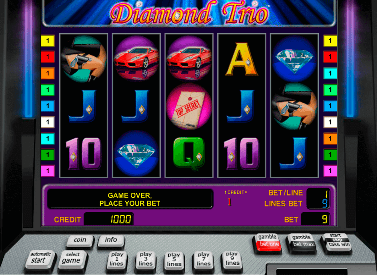 Alte Spielautomaten Bonus 788731