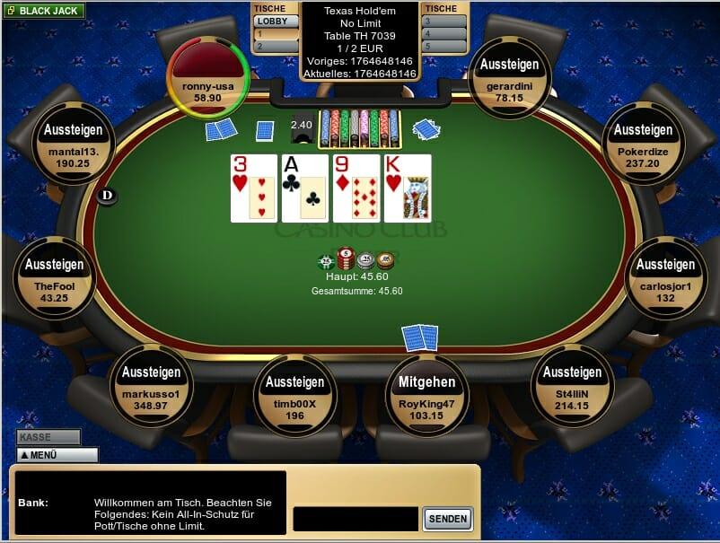 Roulette Spiel mit 796160