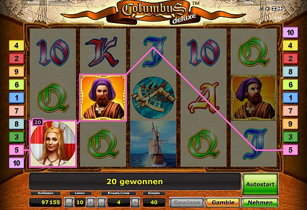 Spielautomaten mit besonderen 72920
