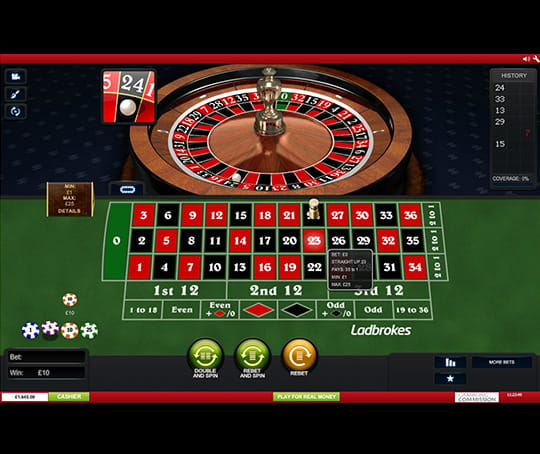 NewAR Roulette Spinland 265440