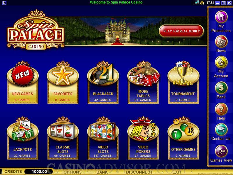 Spin Palace 698049