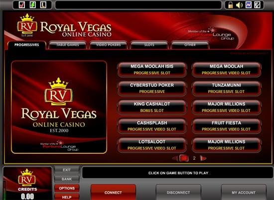 Gutschein Royal Vegas 507257