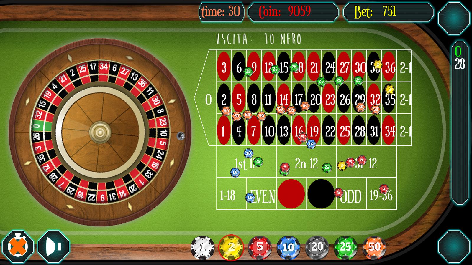 Regelmäßigkeiten Roulette 873602