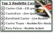 Roulette Rot Schwarz 277341