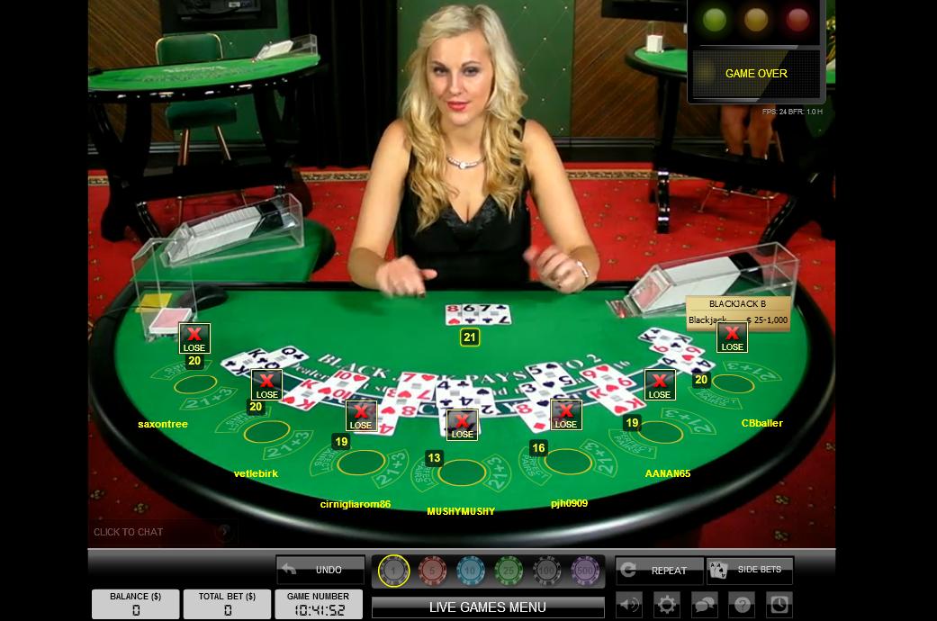 Live Dealer Casino 290440