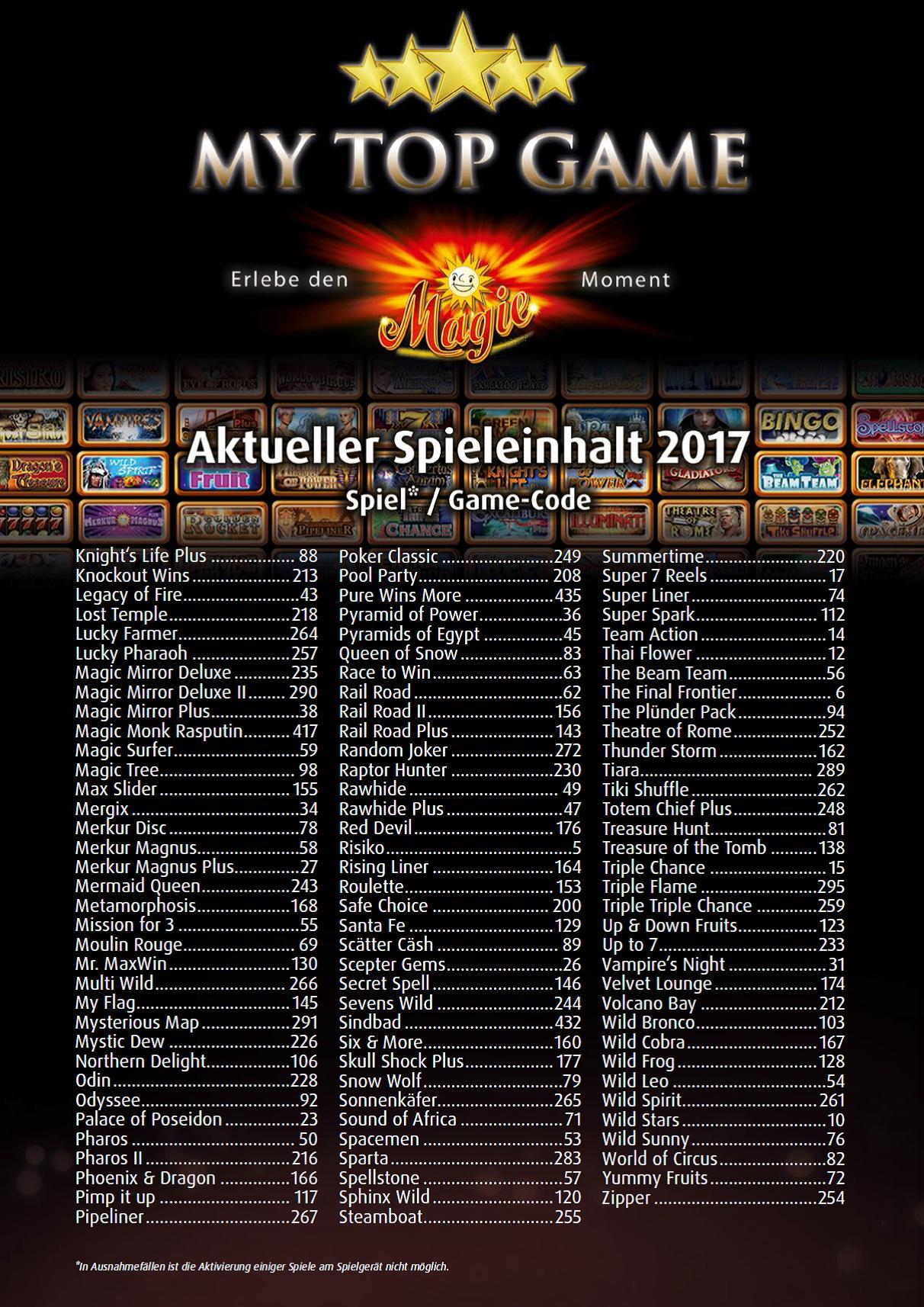 Merkur Spiele Liste 538319