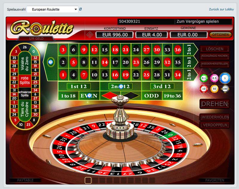 Regelmäßigkeiten Roulette 518417