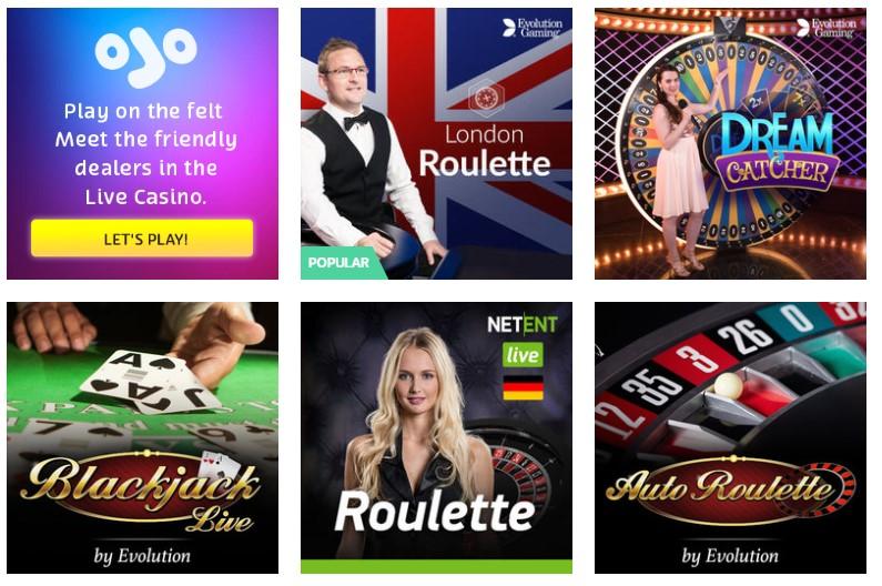 Live Roulette 295716