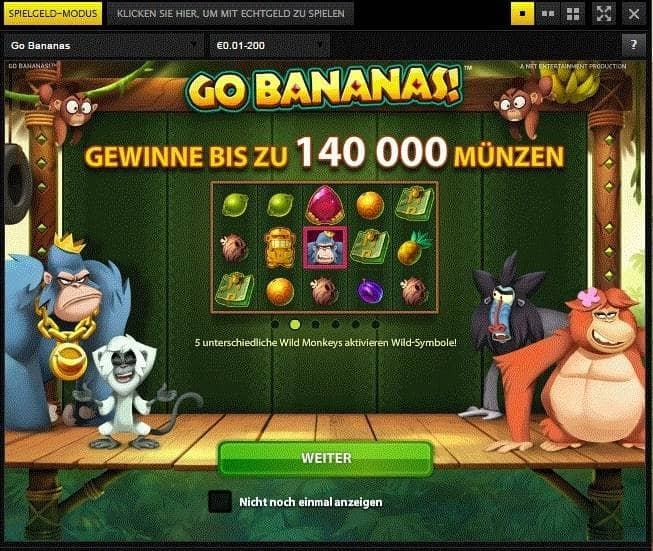 Grössten Gewinnchan 831309