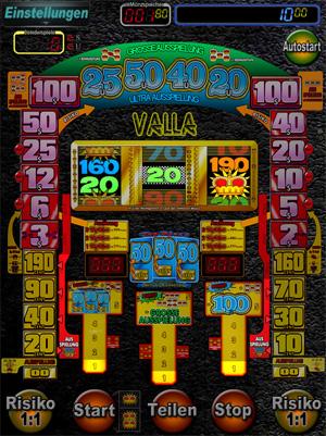 Automaten Zocken Augenscanner 300324