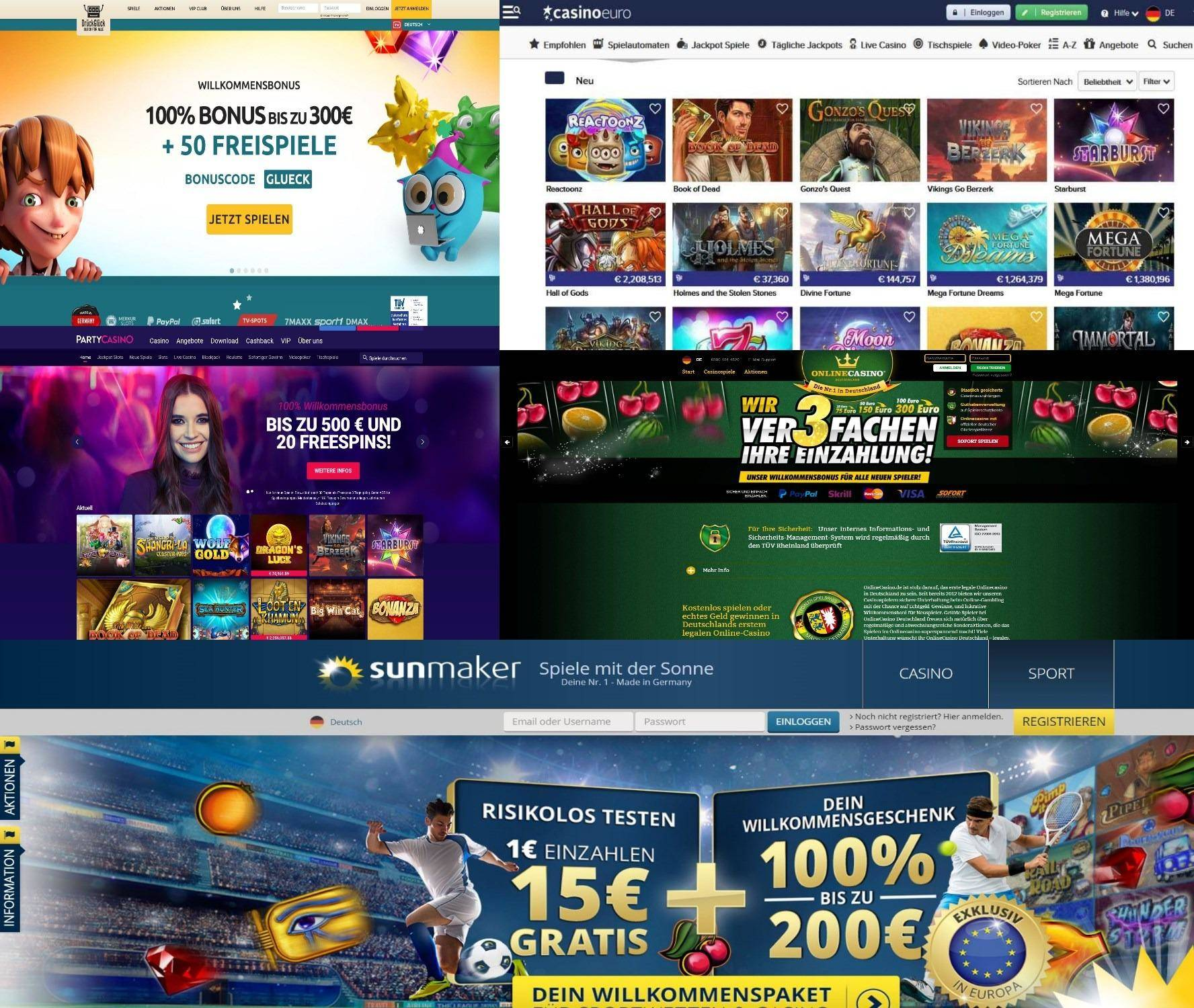 Beste online Casinos 956734