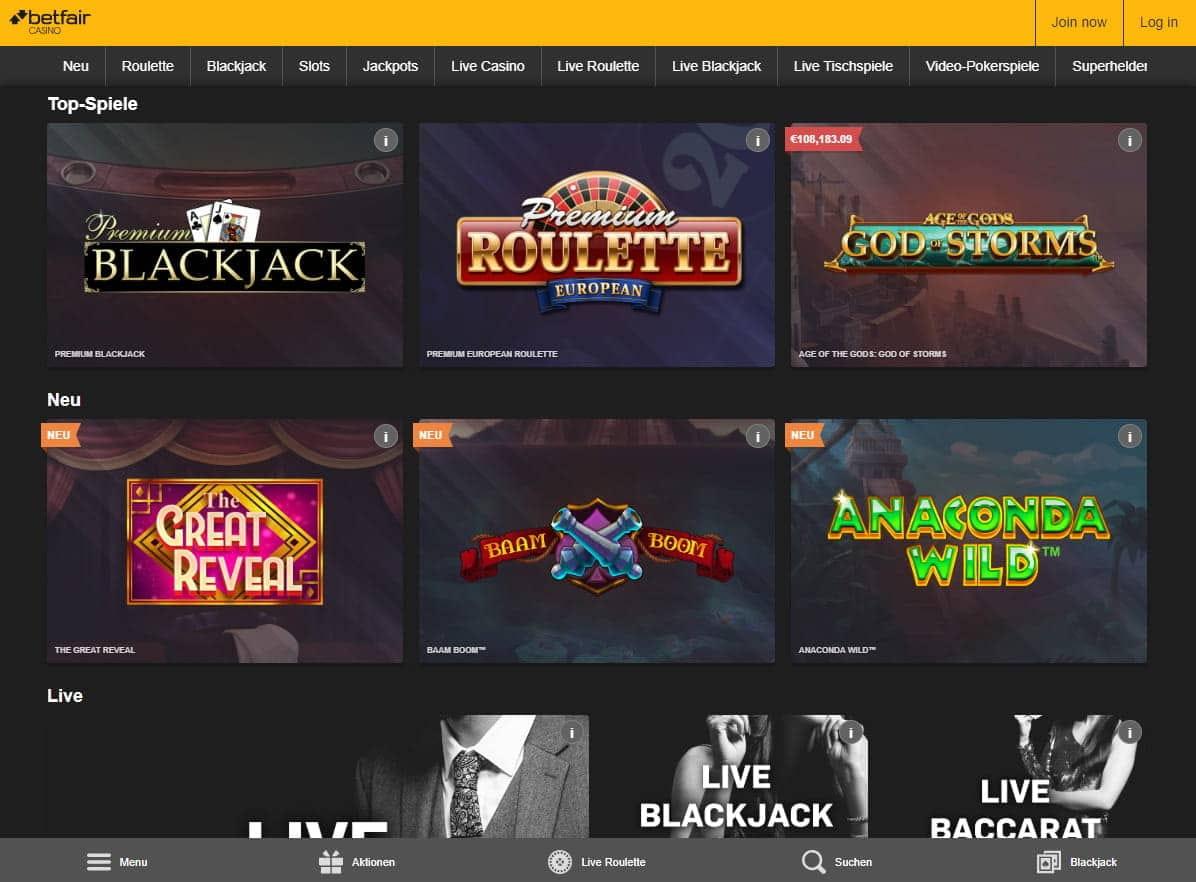 Betfair Casino Bonus 217289