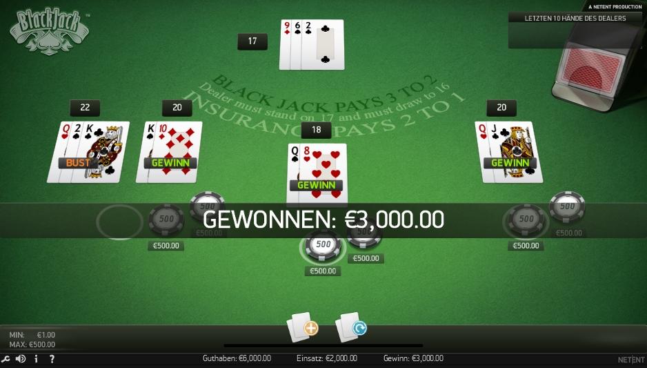 Blackjack Spielgeld 477931