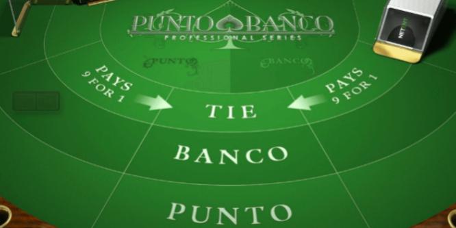 Punto Banco Baccarat 379099