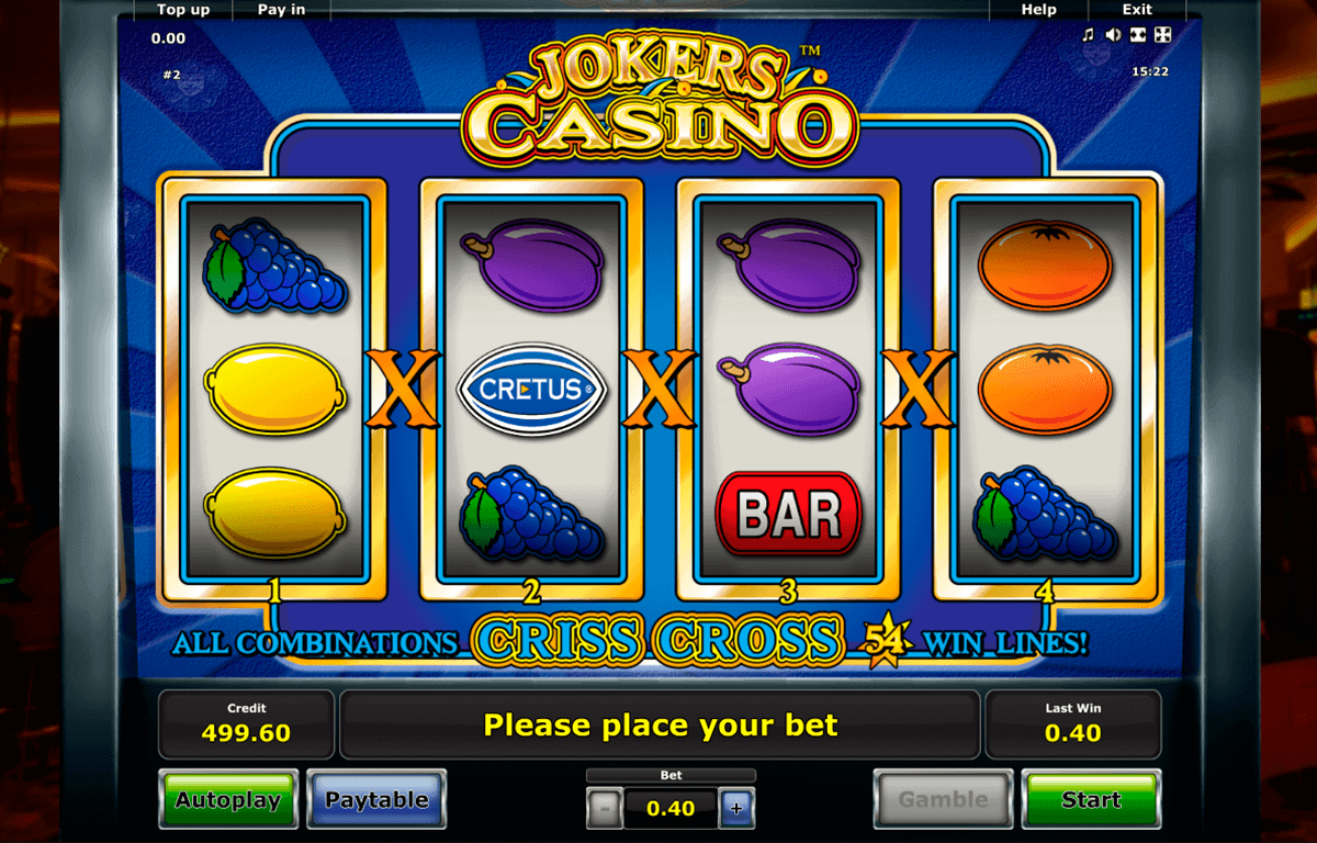Spielautomaten Bonus 960134