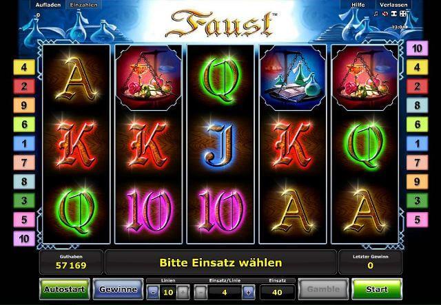 Faust online GrandFortune 522159