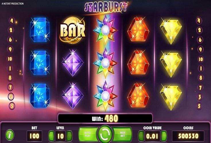 Demo Spiel Starburst 745145