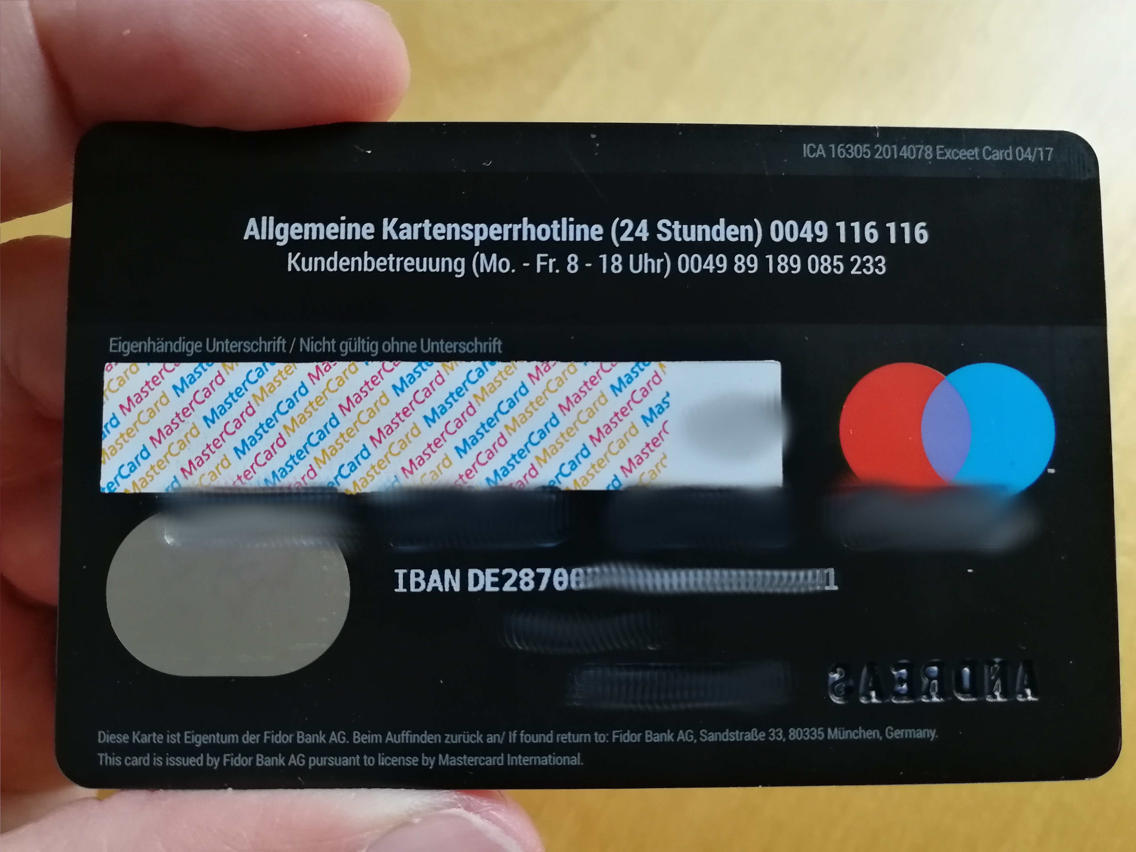 Fidor Bank 270189