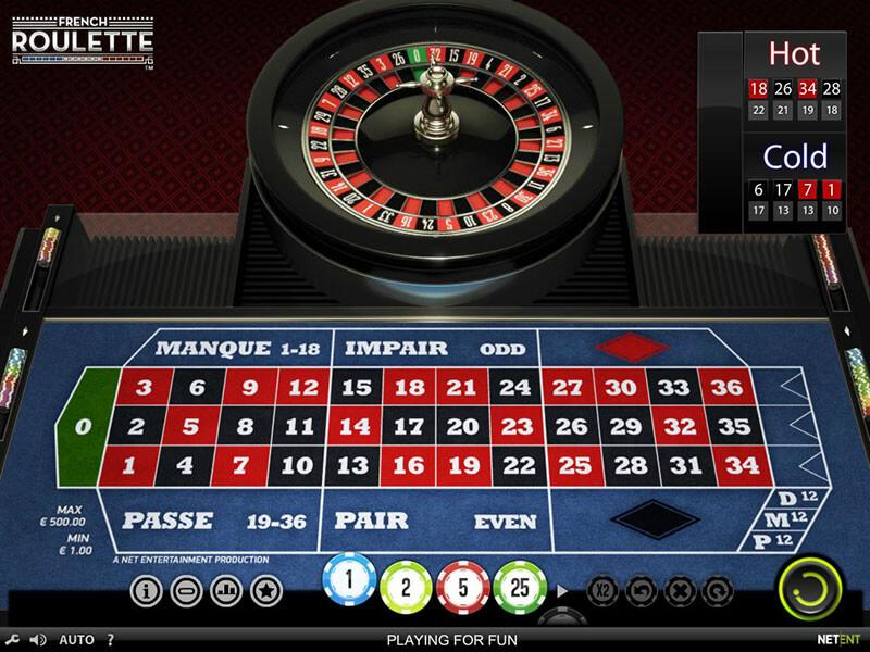 French Roulette Gamomat 843062