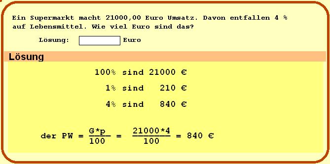 Gewinn berechnen Euro 431517