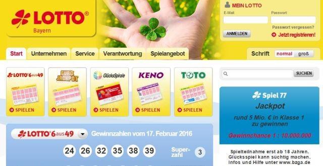 Lotto Bayern 236287