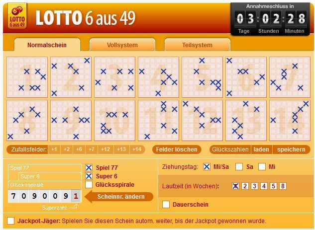 Lotto spielen 793691