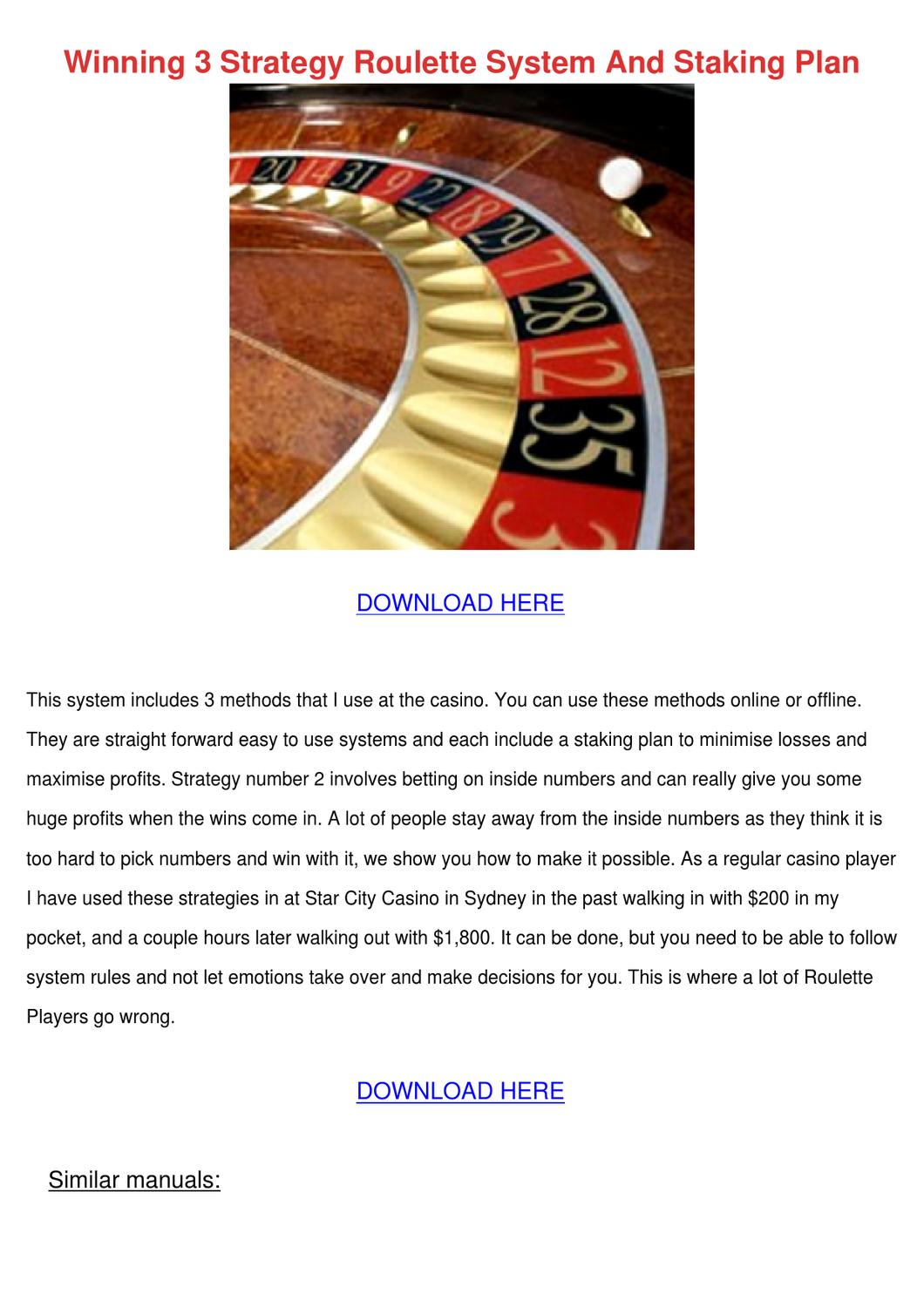 Roulette Strategie 267913